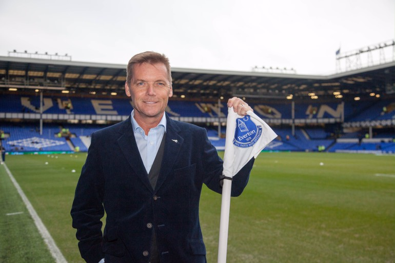 Ian at Everton